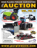 High Plains Forage Harvesting Business Redirection Auction