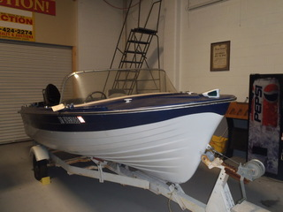 Online Auction Only - BOAT AND TRAILER