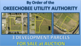 FOR SALE at Auction By Order of the OKEECHOBEE UTILITY AUTHORITY