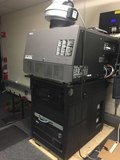 USED 2012 NEC NC SERIES BARCO DP2K-12C PROJECTOR & GDC SX SERVER FOR SALE IN NY