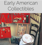 Early American Tools, Furniture, Cargo Trailer