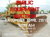 Crow Brothers Equipment Auction