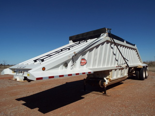 2012 Belly dump trailer with tarp