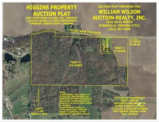 84+/- ACRES GIBSON COUNTY LAND AUCTION