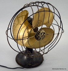 Brass Blade Fan