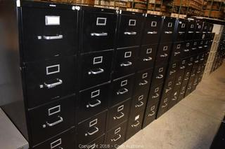 Online Auction Only - Surplus Filing Cabinets and Office Equipment