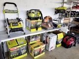 OVER 1,000 PCS. POWER TOOLS, EQUIPMENT, HOME GOODS, & GENERAL MERCHANDISE