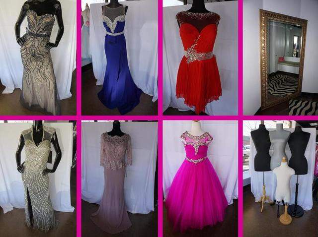 Online-Only Prom & Pageant Dress Shop Liquidation Auction - Nitz Auction