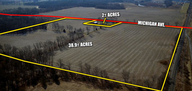 38.92 Acres with buildings