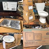 New Wholesale Plumbing, Kitchen, Bath & Tool Liquidation - Timed Auction