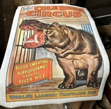 Circus Posters To be Sold At Stanton's Spring Music Auction