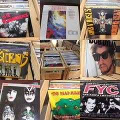 500+ Indie, Rock, Alternative, Jazz, Blues, R&B Records from the 1960's to the 1990's - Rare Collection, Sold Complete for One Bid