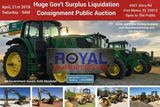 27th Annual Spring Gov't & Consignment Auction