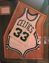 LARRY BIRD CHAMPIONSHIP UNIFORM