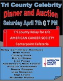 SOLD AUCTION Tri-County Celebrity Waiter Dinner