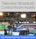 CLOSING TODAY TV Broadcast Operations Center Online Auction! Falls Church, VA