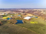 Horse Property | Indoor Riding Arena on 41 Acres with 4 Bedroom Home & Outbuilding | Offered in Two Tracts & Combined | Kearney, MO | For Sale at Auction
