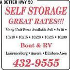A Better Hwy 50 Storage Auction