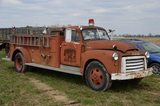 GMC 1950's Fire Truck, Tractors, Farm Equipment