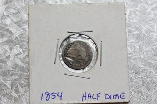 Online Auction ONLY - ESTATE COINS, CURRENCY & JEWELRY