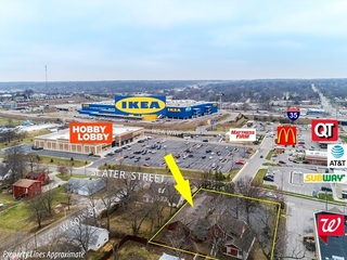 GONE! Office/Retail Buildings | Adjacent to Walgreens in Prime IKEA Development Area | Merriam, Johnson County, Kansas | For Sale at NO RESERVE AUCTION