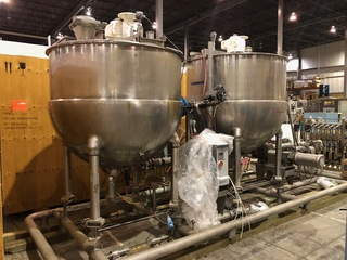 Groen Two Kettle Batching System- Lot 64: