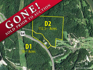 GONE! Online Land Auction: 130+/- Acres Adjacent to Osage National | Lake of the Ozarks, MO (Property D1 & D2)