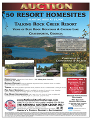 Talking Rock Creek Resort lots
