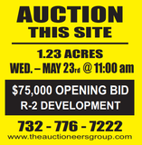 REAL ESTATE AUCTION - NEPTUNE, NJ - 1.23 ACRES