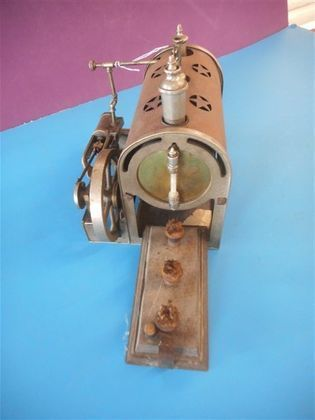 Large Collection of Toy Steam Engines & Toys