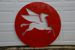 Flying Horse Sign