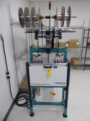 Herzog Braiding Machine w/Spooler