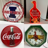Lifetime Collection of Antiques and Advertising - Thursday Night Auction