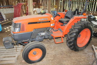 KUBOTA MX5000SU LIKE NEW 265 HRS