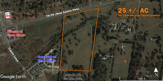 25 +/- AC for Commercial Development on TN-99 (New Salem Hwy