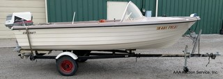 1965 Runabout Boat