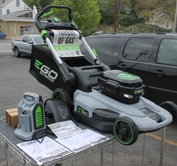"""EGO 56v Battery Operated Mower, 21"""" Self Propelled, NEW"""
