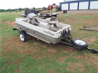 Lor 240 2004 Buster Boat, 10ft, with trailer