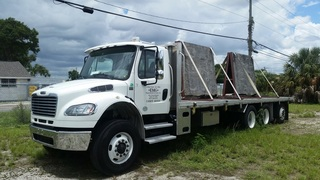 Hino Flatbed Truck