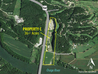Commercial Development Land: 36+/- Acres of Highway Development Land Adjacent to Osage National | Lake of the Ozarks, MO (Property C)