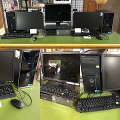 Desktop Computers, Working, Refurbished w New Hard Drives