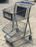 DOUBLE BASKET SHOPPING CARTS