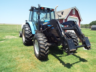 2003 New Holland FWD Tractor
