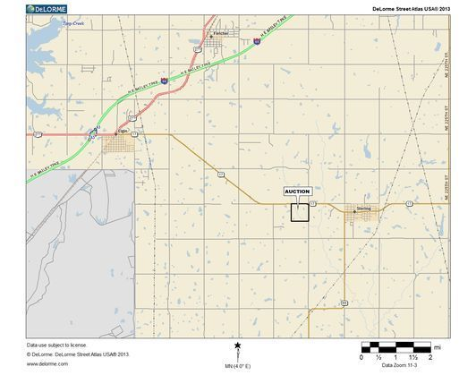 Land Auction - Sterling, OK