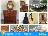 Downsizing Liberty Estate Auction: Furniture, Trailer & More