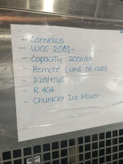 Cornelius Ice Maker: