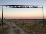 COMANCHE SPRINGS RANCH - FARM MACHINERY - HOUSEHOLD