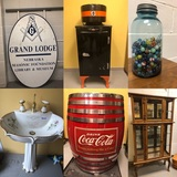 MishMash Vintage Antiques & Second Hand Store - Business Liquidation Timed Auction