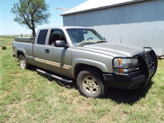 2003 Chevrolet Z71 Club Cab 4x4 Pickup