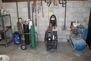 Welder, Torch Set, Air Compressor, & More!